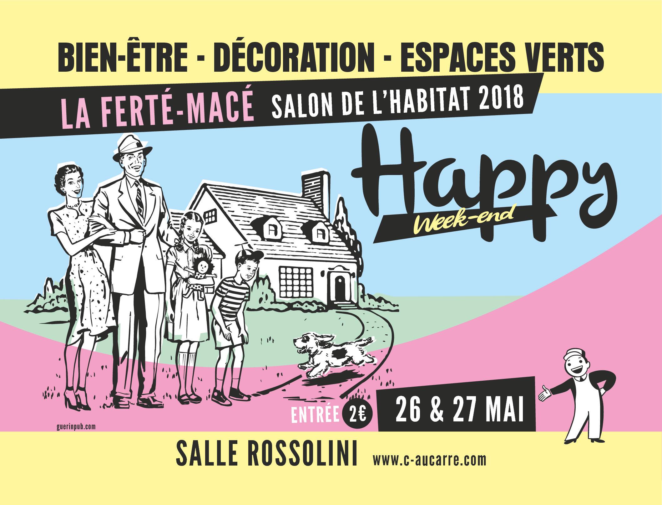 Salon HAPPY WEEK-END les 26 et 27 mai