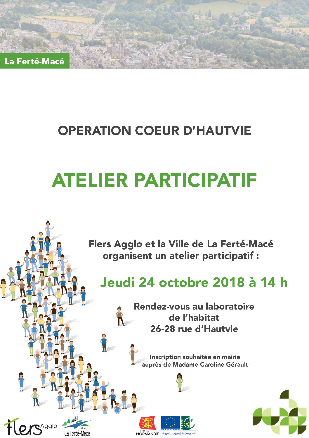 Opération Coeur d'Hautvie – Atelier participatif – 24 octobre 2018
